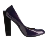 United Nude: Pumps, Block Pump High, Purple Patent Leather