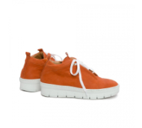 NUDE: Sneaker, Longbeach Terracotta Orange