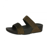 Fitflop: Sandal, Electra Micro Slide Brons